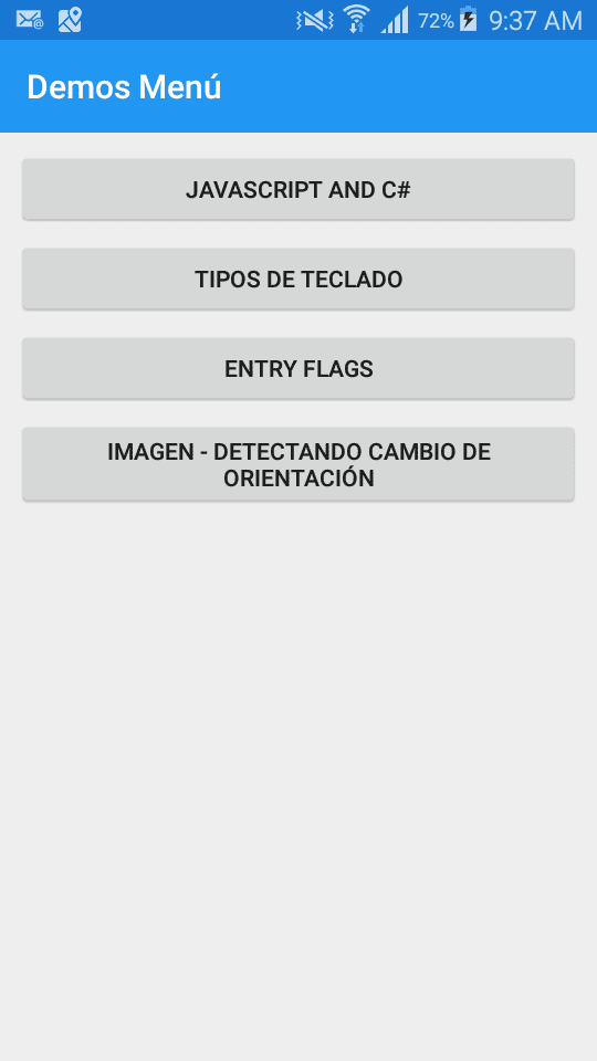 NavigationPage por defecto