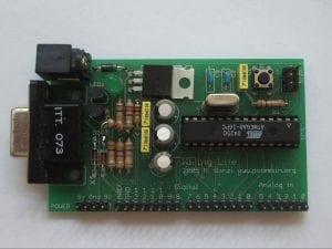 Historia de Arduino - Uno de los prototipos de Arduino