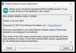 Acuerdo de Licencia de Arduino