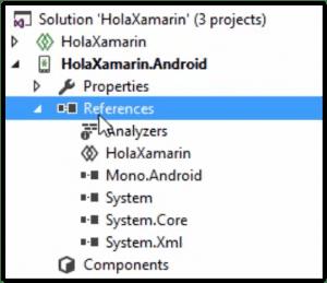 Ejemplo de proyecto Xamarin Classic