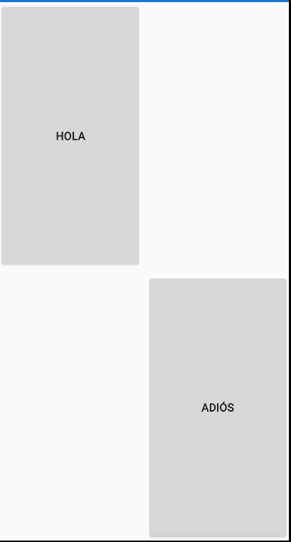 Grid en Xamarin Forms ejemplo