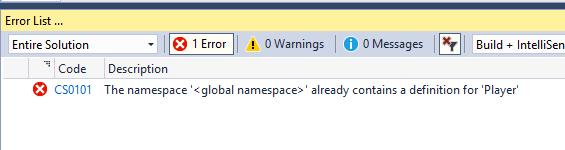 Problema de espacios de nombres en C#