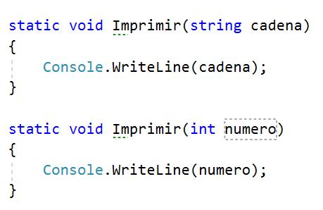 Sobrecarga de operadores en C#
