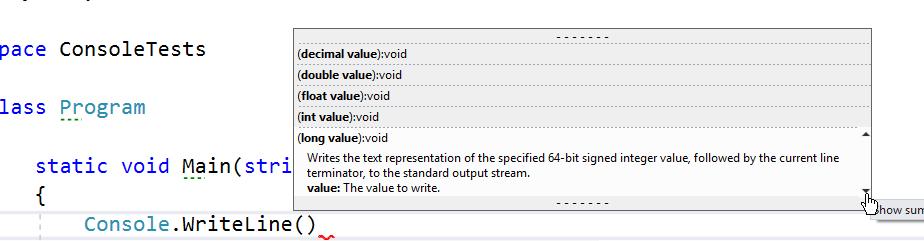 Definir métodos en C#