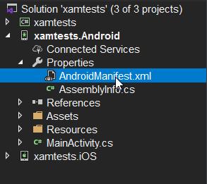Archivo Manifest.xml
